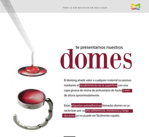 Etiquetas De Resina Dome Stickers 3d 10 Unidades De 1x1 Cm
