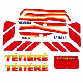 Kit De Adesivos Yamaha Tenere 600 - 1990 À 91