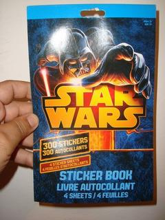 Star Wars Set De 300 Stickers Papel Libro En Caballito