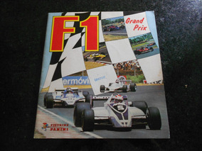 Álbum F1 Grand Prix 1980 - Original Panini - Completo
