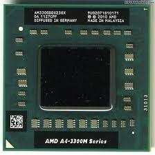 Processador Amd Mobile A4-3300m Am3305ddx22gx 1.9/2.5ghz