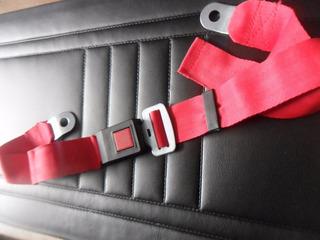 Cinturon De Seguridad Ideal Ford Falcon 62/91 Rojo!!!