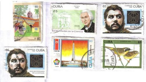 Estampillas De Cuba