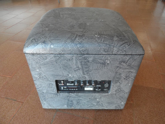 Amp Lounge Cube Estampa Jeans