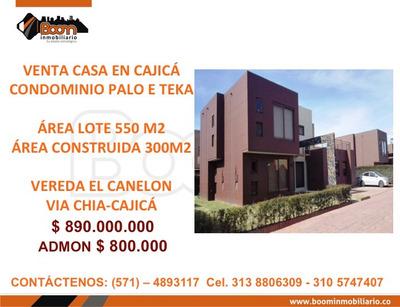 *venta Casa Economica Cajica Palo E Tk