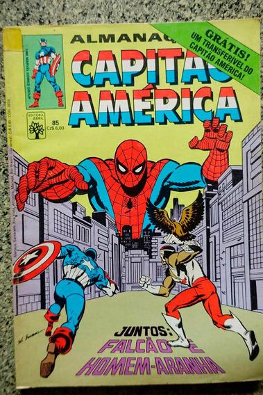 Almanaque Capitão America 85