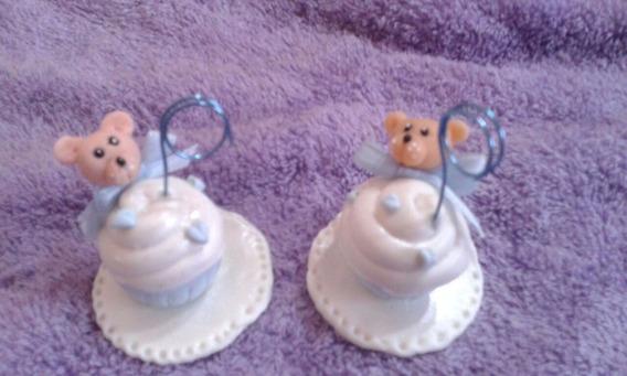 10 Souvenirs Cup Cake En Porcelana Nacimiento, Cumpleaños
