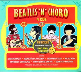 Box Beatles N Choro - 4 Cds Projeto De Renato Russo Lacrado