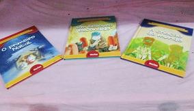 3 Livros Historias Da Biblia Para Crianças
