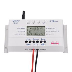 Controlador De Energia Solar 30 A (o Novo T30) 12/24 V Mppt