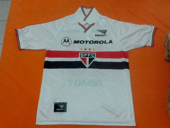 Camiseta Pólo São Paulo Original Ano 2000 P/ Colecionadores
