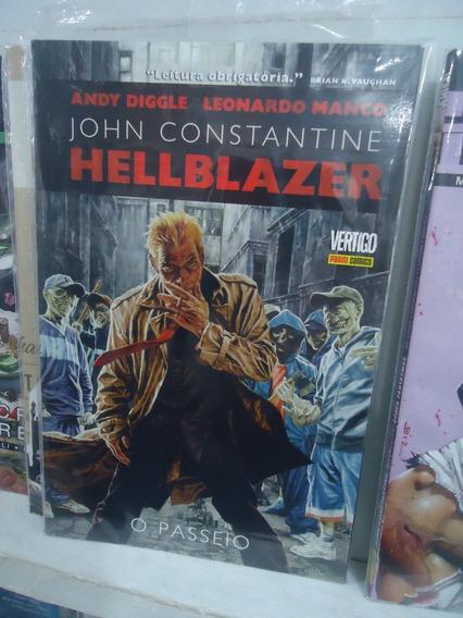 Hellblazer O Passeio Edição Encadernada Panini Comics