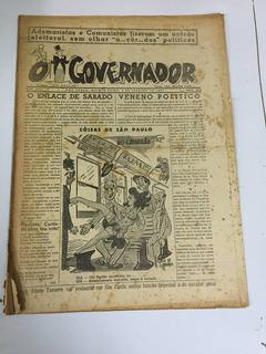 Jornal O Governador Nº 678 Ano Xiii 9 Janeiro 1947