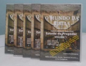 O Mundo Da Bíblia 4dvd+4mil Arq.biblioteca Digital-teologia