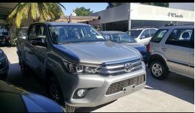 Toyota Hilux Srx 4x4 Automatica Gris Plata
