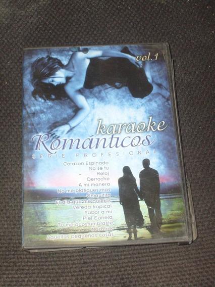 Dvd Karaoke Romanticos Vol 1 Año 2008 Corazon Espinado No Se