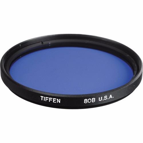 Filtro Tiffen 52mm 80b Conversão De Cor Para Fotos Com Filme