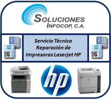 Servicio Tecnico Y Reparación De Impresoras Laserjet Hp