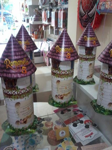 Cajitas Golosineras Torre De Rapunzel X 10 Uds