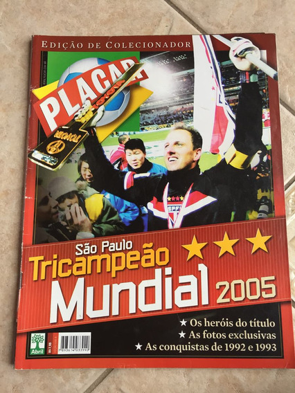 Revista Placar 1290 São Paulo Tricampeão Mundial J691