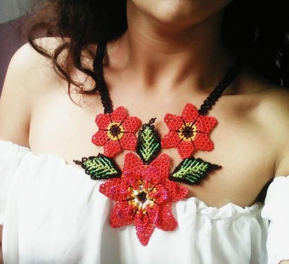 Collares Artesanales De Chaquira