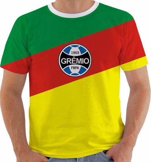 Camiseta Ou Baby Look Ou Regata Grêmio Rio Grande Do Sul Rs