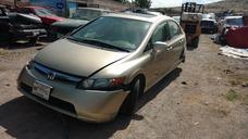 Honda Civic 2008 4p Dat Exl Sedan Aut Accidentado X Partes