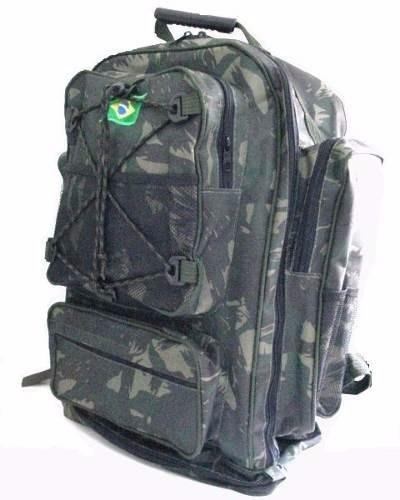 Mochila Cargueira Camuflada ,mochila De Acampamento 70 L