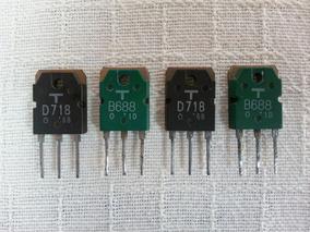 Transístores Toshiba Amplificador Gradiente Model 76-86-126