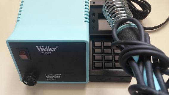 Estação Magnética De Solda 60w - 220v Weller Wtcptdbr Nova !
