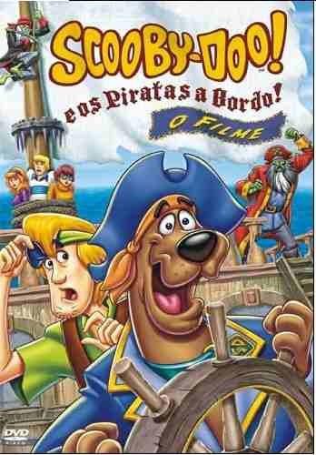 Dvd Scooby-doo! Piratas A Bordo! O Filme