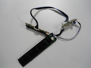 Placa Comandos + Teclado + Sensor Samsung 2033m
