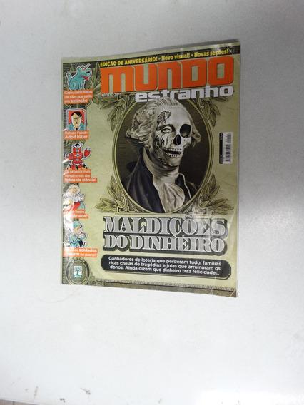 Mundo Estranho Nº 142! Maldições Do Dinheiro! Ago 2013!