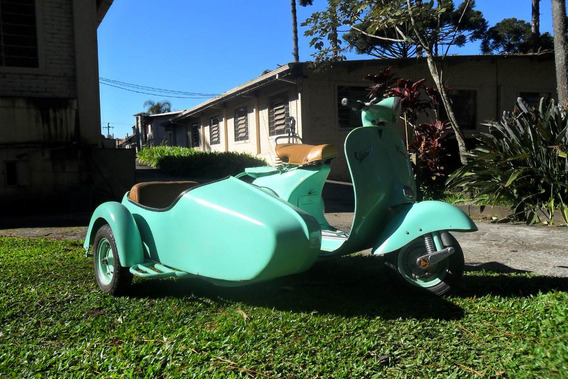 Vespa M3 1963 Piaggio Camila C/ Side Car