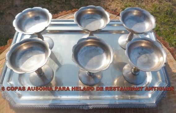 Copas Alpaca Selladas Ausonia ( 7) Para Helado De Restaurant