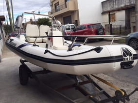 Semirrigido Moon Año 2011 C/motor Johnson 40hp $125.000!!!
