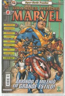 Grandes Herois Marvel Premium 6 Abril - Bonellihq Cx93 G19