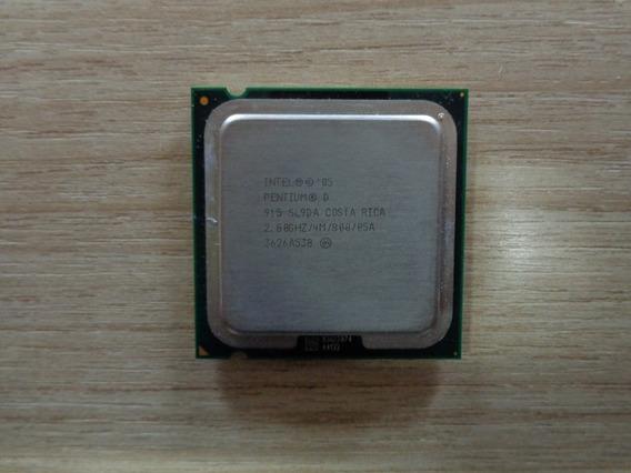Processador Intel Pentium D 915 2.80 Ghz - 800 Mhz 4 Mb 775