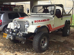 Willys Cj8 Scrambler Modelo 1986 En Perfecto Estado
