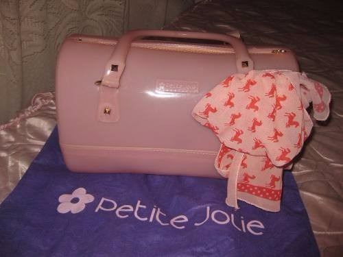 6a0d38da9 Bolsa Bau Petit Jolie (estilo Melissa) - R$ 55,00 em Mercado Livre