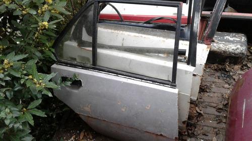 Vidrio De Puerta Trasera Derecha  Renault 18
