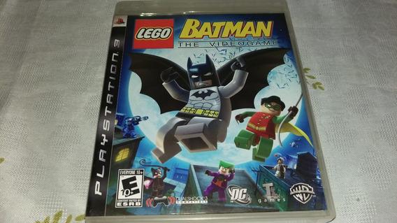 Lego Batman The Videogame Original Ps3 Midia Fisica