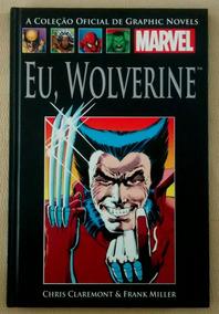 Eu Wolverine Capa Dura Salvat Novo