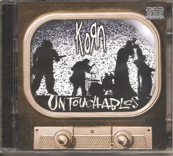 Dvd + Cd Korn - Untouchables - Nu Metal, Alternativo Rapcore