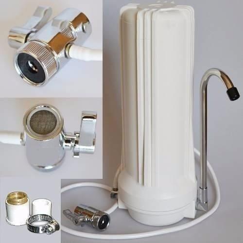 Purificador De Agua Sobremesada Con Filtro Matrikx