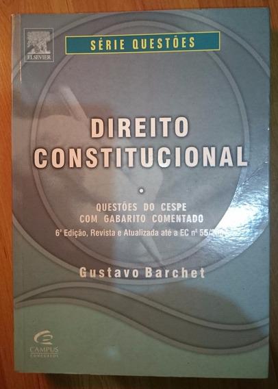 Direito Constitucional Gustavo Barchet 6 Edição