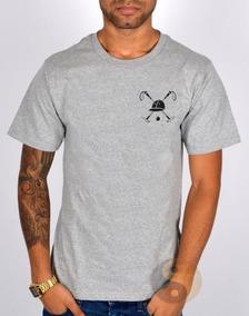 Camisa Polo Play Camiseta Masculina Basica 100% Algodão