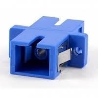 Adaptador Óptico Simples Monomodo Sm Sc - Pacote 24 Pçs