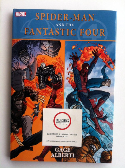 Spider Man And The Fantastic Four Hc (2011) Marvel