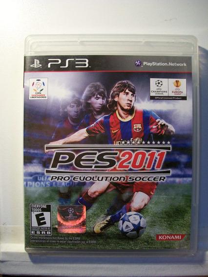 Pes 2011 - Pro Evolution Soccer, Jogo Ps3 Original Novinho